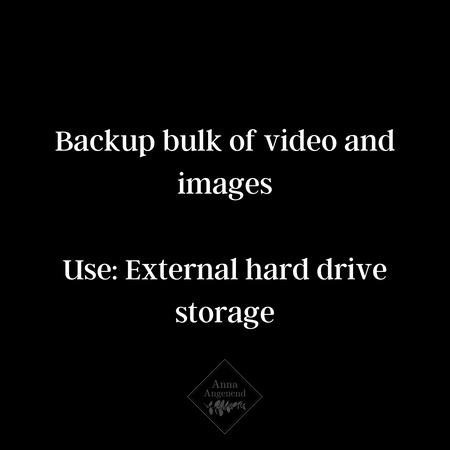 how to organize and save digital images