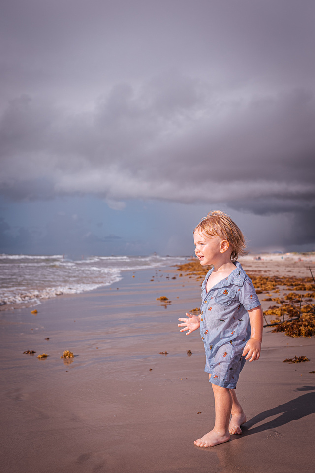 sunrise beach portrait photography