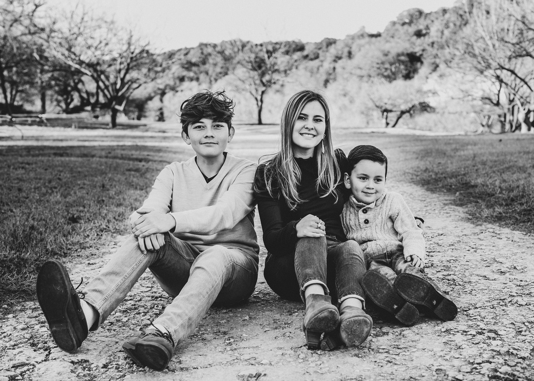 sunset autumn family photos san antonio texas
